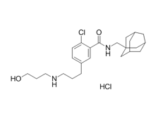 AZD-9056 hydrochloride Chemical Structure