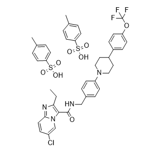 Q203 Ditosylate Chemical Structure