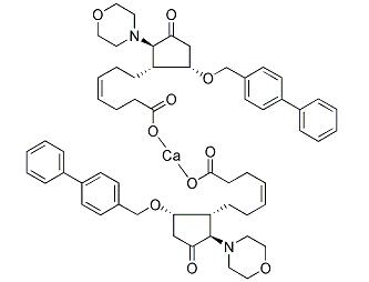 AH 23848 calcium salt Chemical Structure