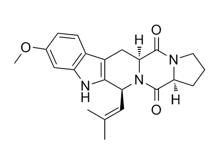 Fumitremorgin C 结构式