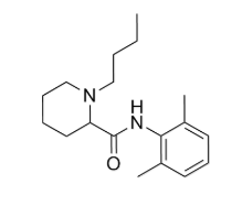 Bupivacaine Chemical Structure
