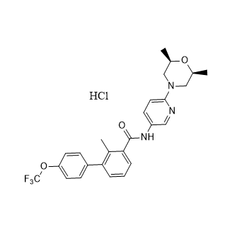 LDE225 HCL Chemical Structure