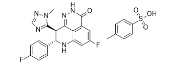 Talazoparib tosylate Chemical Structure
