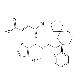 TRV-130 fumarate Chemical Structure