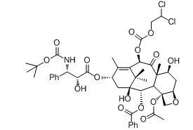 10-O-2,2-Dichloroethoxycarbonyl Docetaxe Chemical Structure