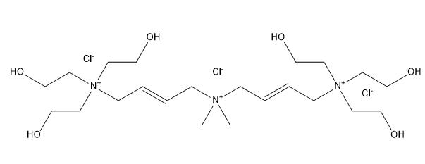 Polyquaternium-1 Chemical Structure