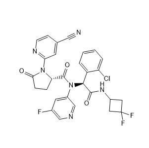 Ivosidenib Chemical Structure