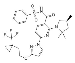 VX-659 Chemical Structure