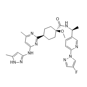 Pralsetinib Chemical Structure