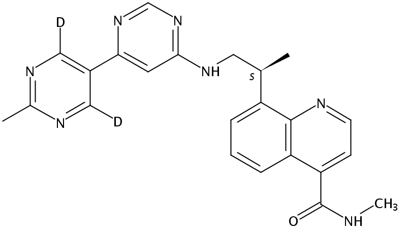 VX984 Chemical Structure