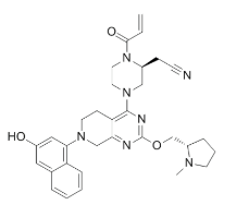 KRas G12C inhibitor 2 Chemical Structure
