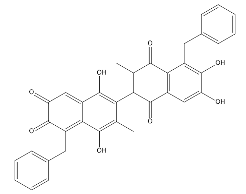 (-)BI97D6 Chemical Structure