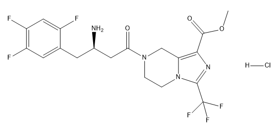 Retagliptin Hydrochloride Chemical Structure