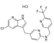 PLX3397 HCl Chemical Structure