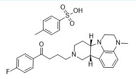 Lumateperone Tosylate Chemical Structure