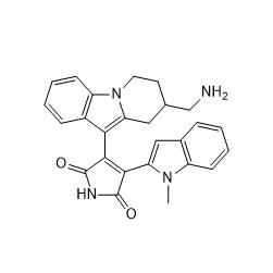 Bisindoylmaleimide X Chemical Structure