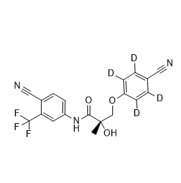 Ostarine-d4 Chemical Structure
