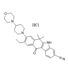 Alectinib Hydrochloride Chemical Structure