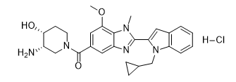 GSK484 hydrochloride Chemical Structure
