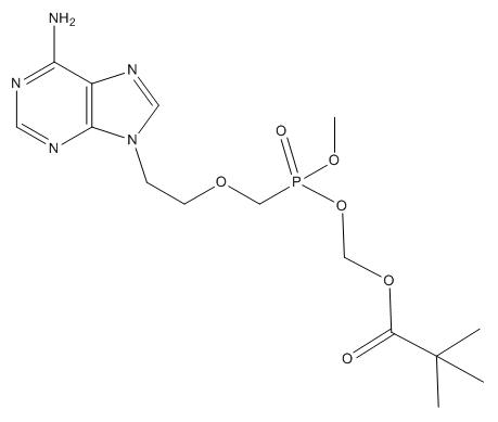 Adefovir Impurity Chemical Structure