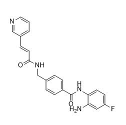 Tucidinostat Chemical Structure