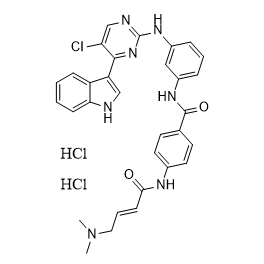 THZ1 2HCl Chemical Structure