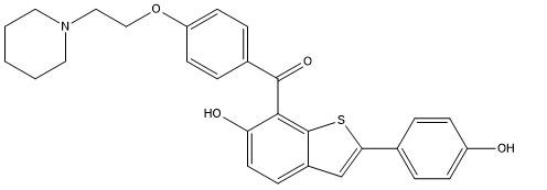 Raloxifene Impurity B Chemical Structure