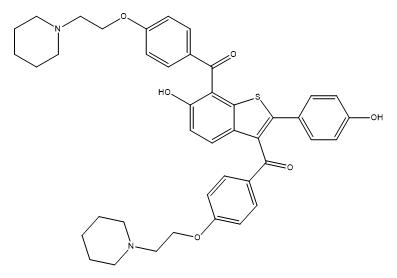 Raloxifene IMpurity I Chemical Structure