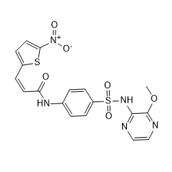 (Z)-Necrosulfonamide Chemical Structure