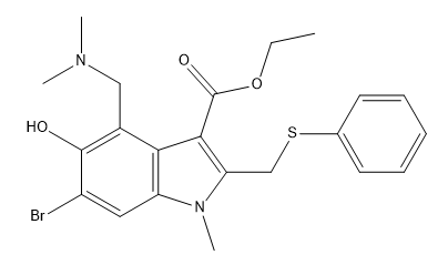 Arbidol Chemical Structure