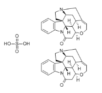 Strychnine Sulfate Chemical Structure