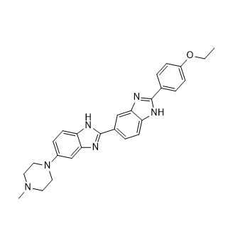 Hoechst 33342 Chemical Structure