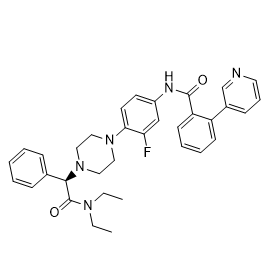 (-)-JNJ-31020028 Chemical Structure
