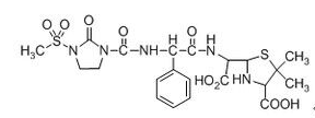 Mezlocillin Impurity A Chemical Structure