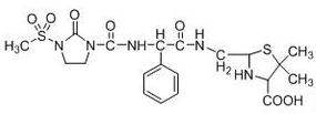 Mezlocillin Impurity B Chemical Structure