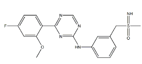 Atuveciclib Racemate Chemical Structure