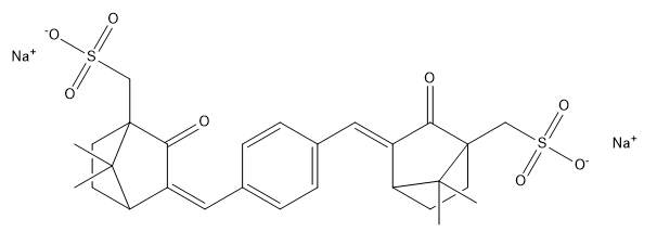 Ecamsule ·2Na Chemical Structure