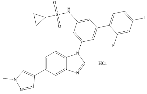 ODM-203 HCl Chemical Structure