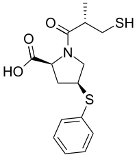Zofenoprilat Chemical Structure