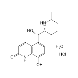 Procaterol hydrochloride hemihydrate Chemical Structure