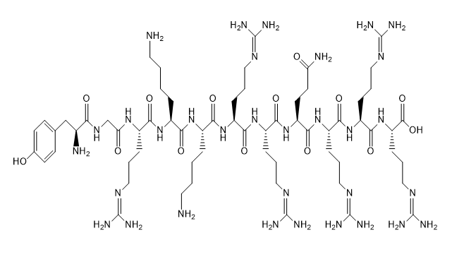 HIV-1 Tat Protein (47-57) Chemical Structure