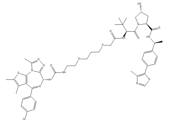 ARV-771 Chemical Structure
