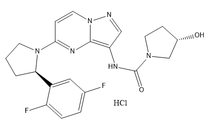 LOXO-101 HCl salt Chemical Structure