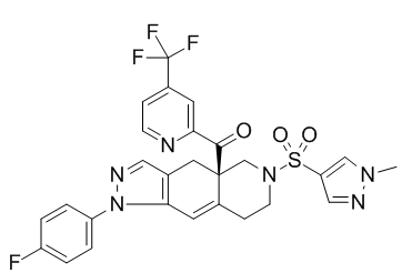 Relacorilant Chemical Structure