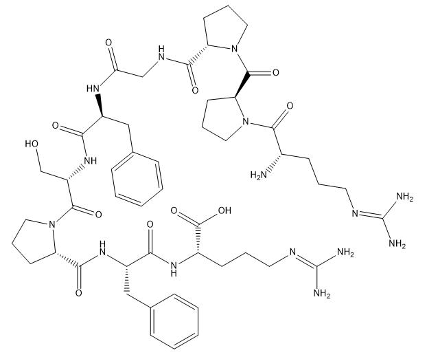 Bradykinin Chemical Structure