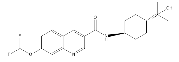 GSK2894631A Chemical Structure