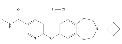 GSK-189254 hydrochloride Chemical Structure