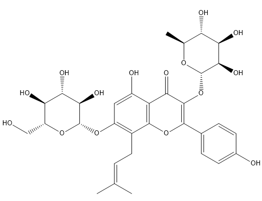 Epimedoside A Chemical Structure