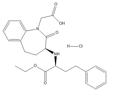 Benazepril HCl Chemical Structure