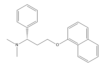 Dapoxetine Chemical Structure